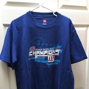 Other - NY Giants Super Bowl XLII Short Sleeve